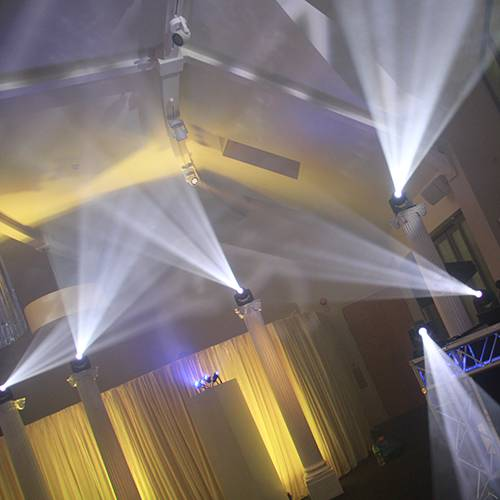 Wedding Lighting Hire Chester