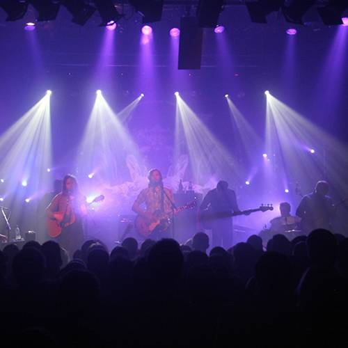 Concert Lighting Hire for a tour ending in Cambridge