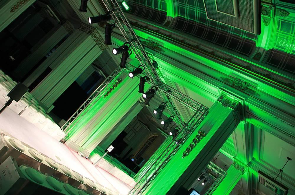 Fashion Show Lighting & Catwalk Hire at Cunard Building Liverpool.