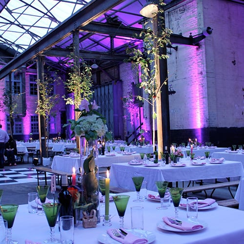 Camp & Furnace Liverpool Lighting Hire