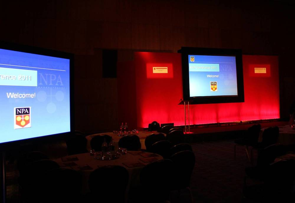 Conference AV and Staging at Hilton Manchester Deansfarte
