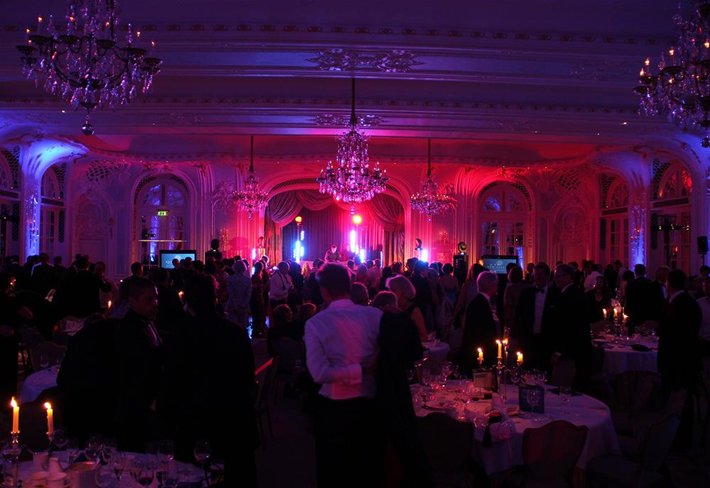 Savoy Hotel London Lighting & AV Setup