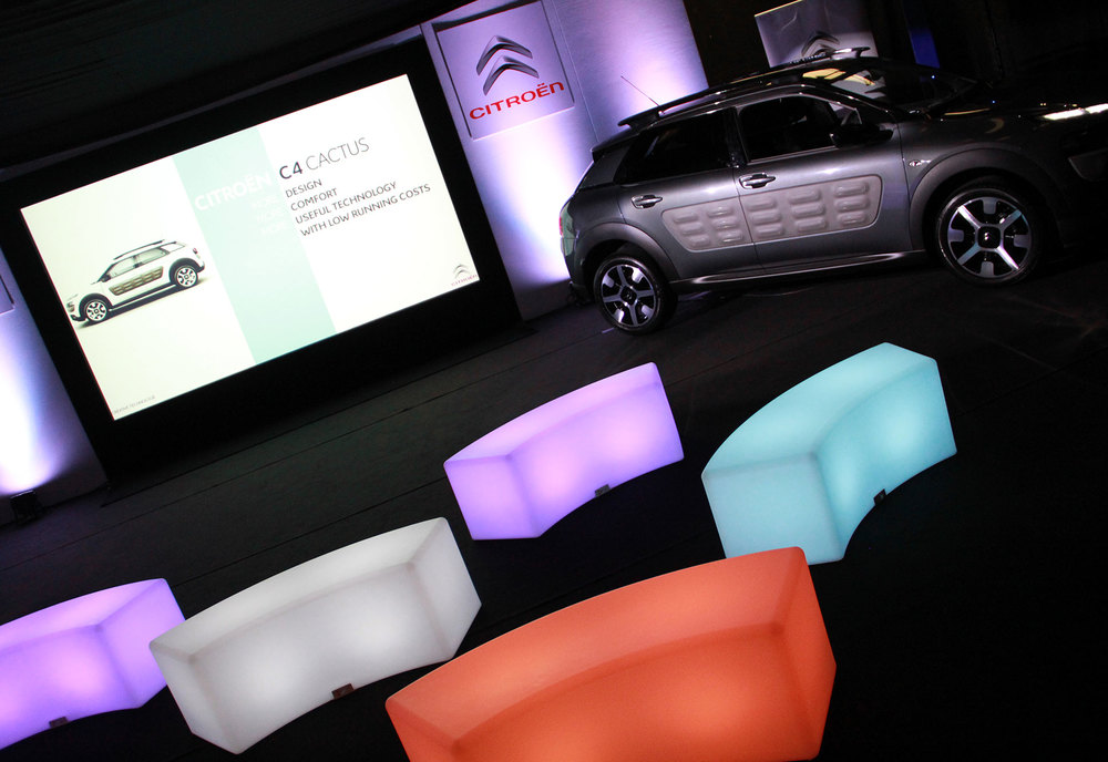 AV Hire & Staging for a Car Launch near Birmingham