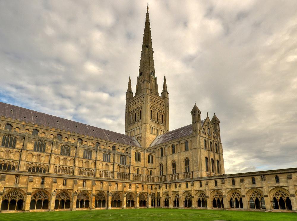 Imagen de la catedral de Norwich  / FLICKR