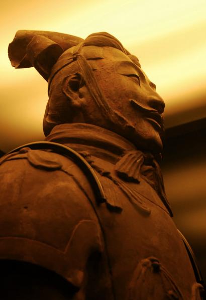 Imágenes de varias figuras del ejercito de terracota / FLICKR