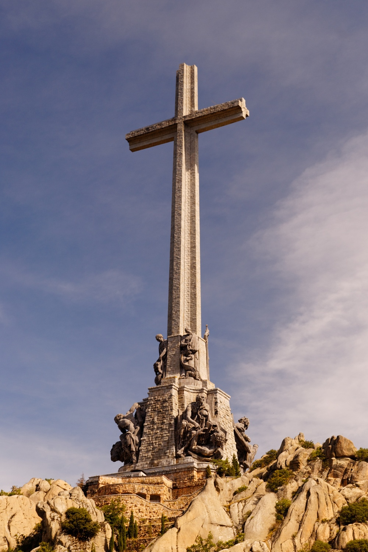 Cruz del Valle de los Caídos. / EMILIO GARCÍA