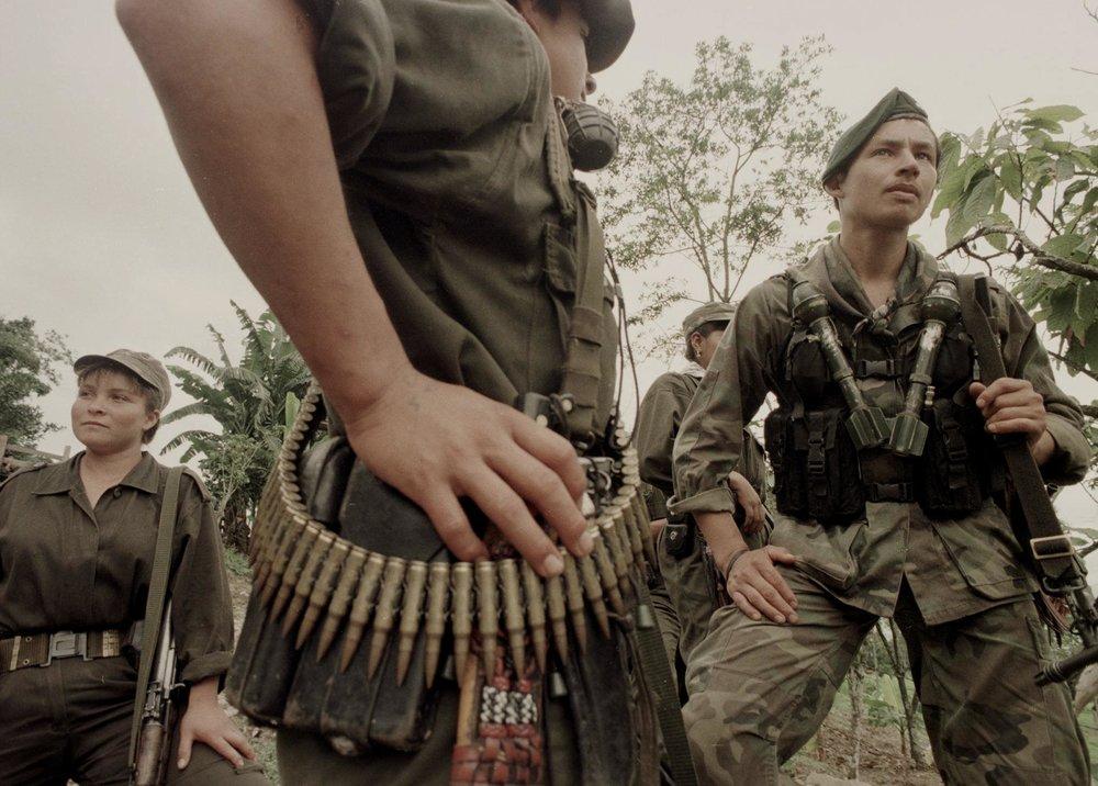 Una imagen de un guerrillero de las FARC.   LEO PRIETO / FLICKR.