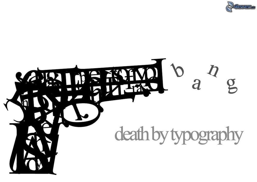 Un dibujo abstracto de una pistola. VLADIMIR LEDÉVEB / 4EVER / FLICKR.