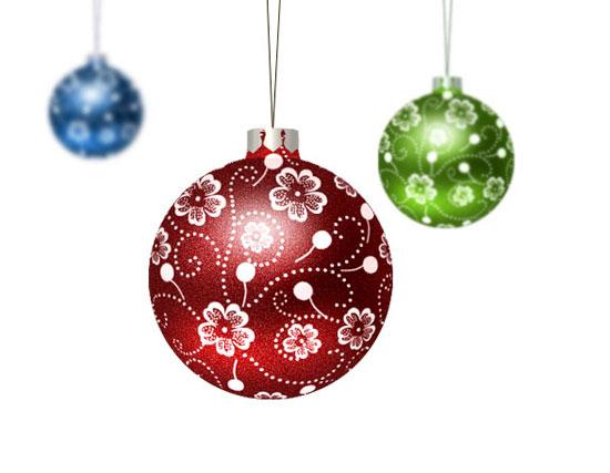Algunos objetos típicos que se utilizan en la decoración navideña en países como Inglaterra o España. PEDRO SÁNCHEZ.