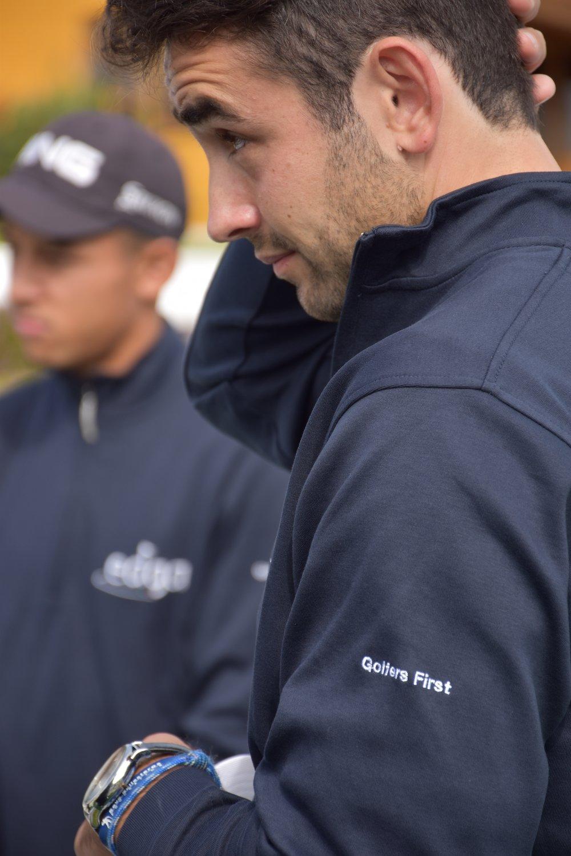 En las imágenes, el golfista español Juan Postigo Arce participando en diferentes competiciones en países europeos y en Estados Unidos.  JUAN POSTIGO ARCE.