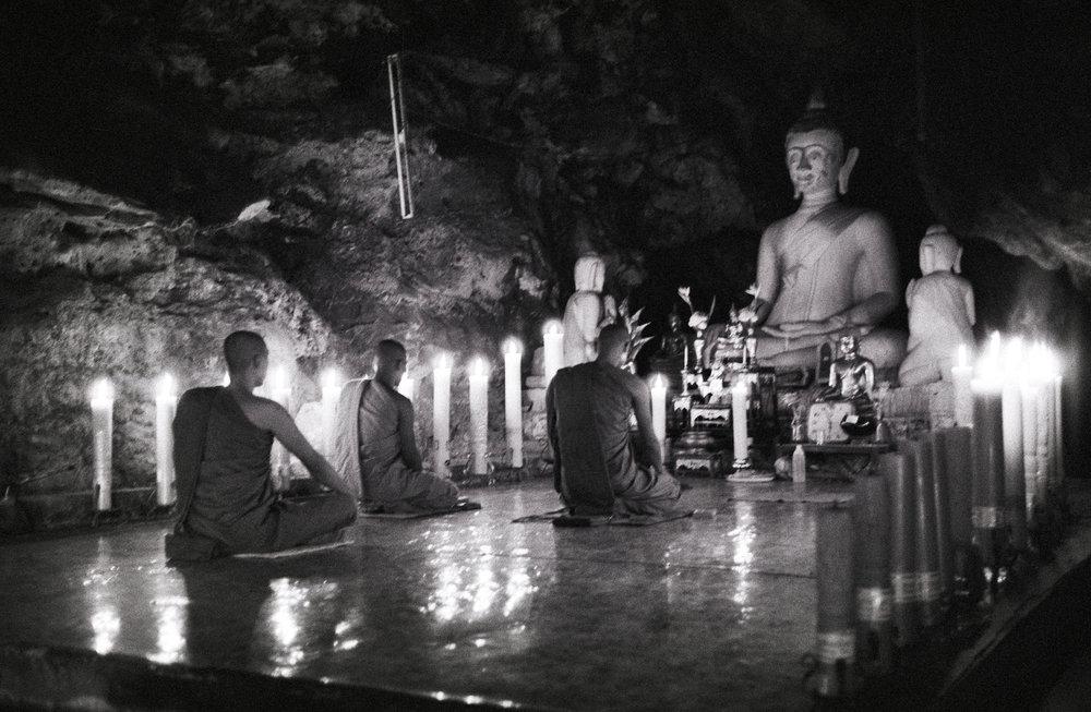 Cave Temple, Thailand, 2003