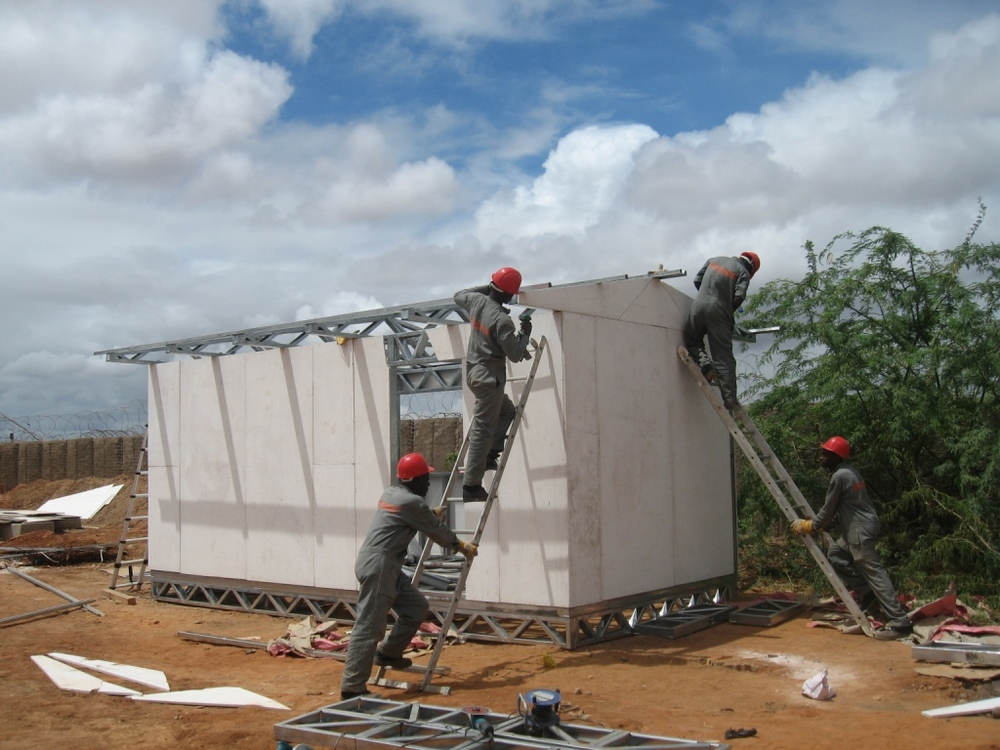 Solar Classroom Construction Dadaab Kenya - World's Largest Refugee Camp.JPG