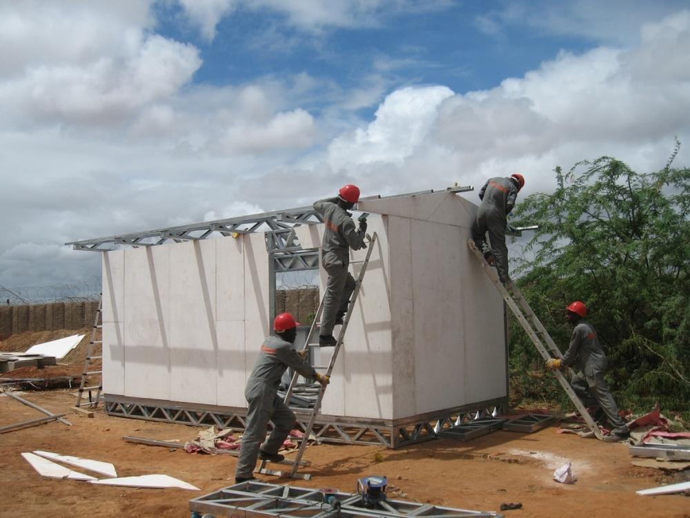 Solar Classroom Construction Dadaab Kenya - World's Largest Refugee Camp.JPG