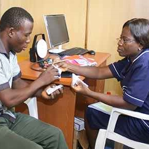 delivering free healthcare to 30k patients a month in  nigeria