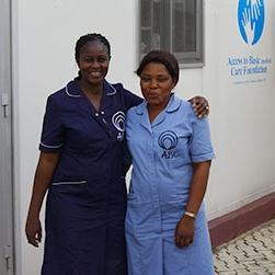 aleutia nurses nigeria solar clinic