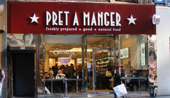 powering every pret a manger till around the world