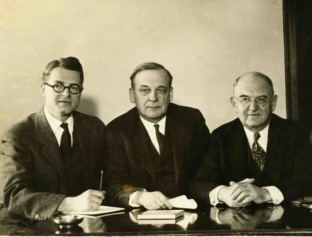 The Brownlow Committee: Merriam, Brownlow, and Gulick