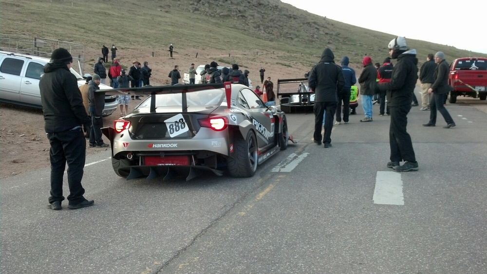 Pikes peak hill climb has some rules.   Guess why....... yup, because its super dangerous.
