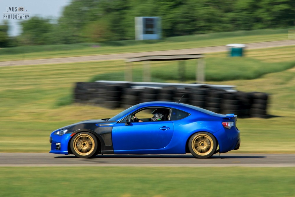 Funny - every photo I can find of this thing on track on Joels Facebook is of me driving it.  LOL.