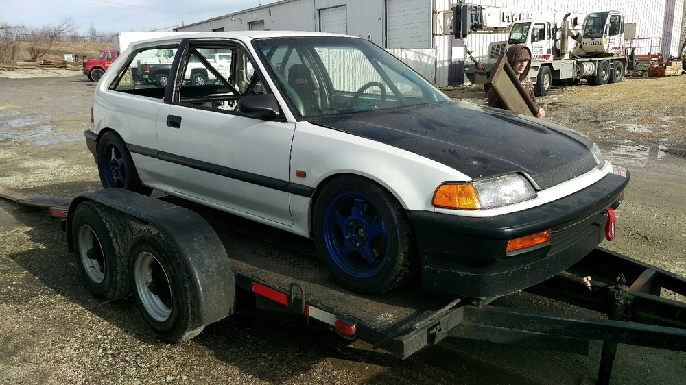 of course i'm writing about an old Honda.  I have a problem.  duh.
