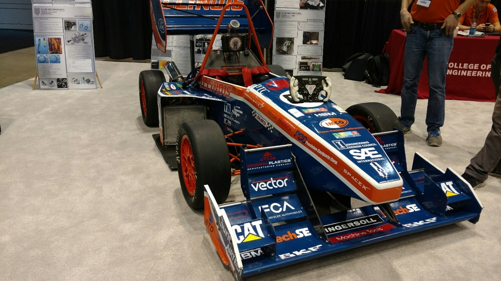 Formula SAE cars are neat. So neat