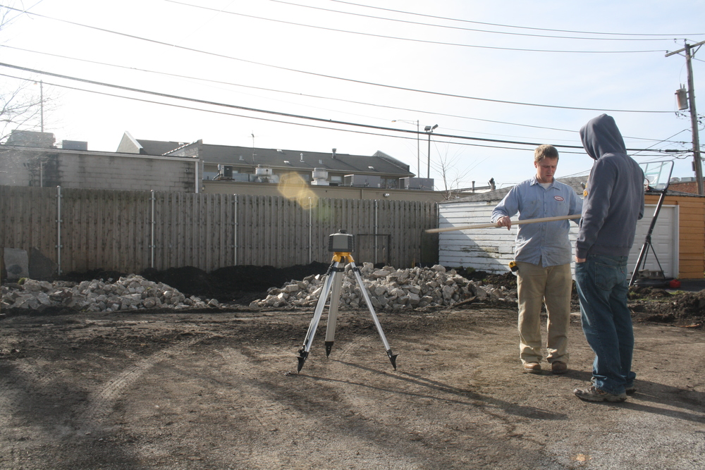 Ever done surveying work? Ever prepped a pile of rubble to be a foundation for a garage?  Jeremy hadn't either.