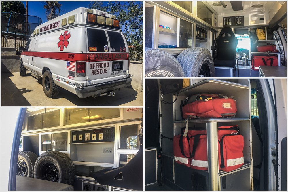 Austin's 1997 E350 Ambulance.  135k miles on the 7.3 Powerstroke.  Baby Mileage.