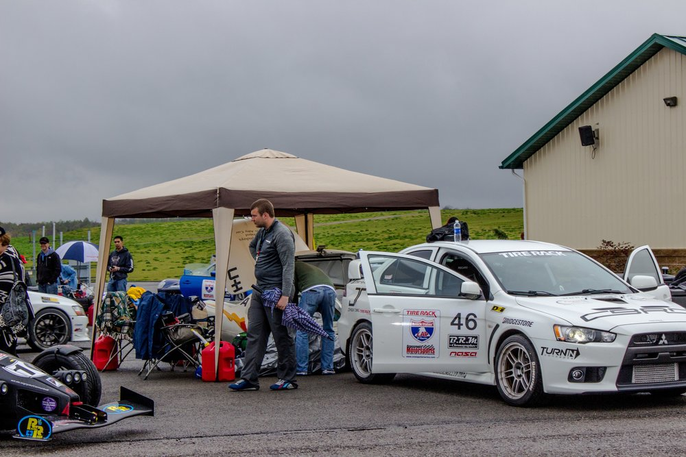 OneLapGSR // Day 2: Trailers and Tribulations at Pitt Race — tracktuned