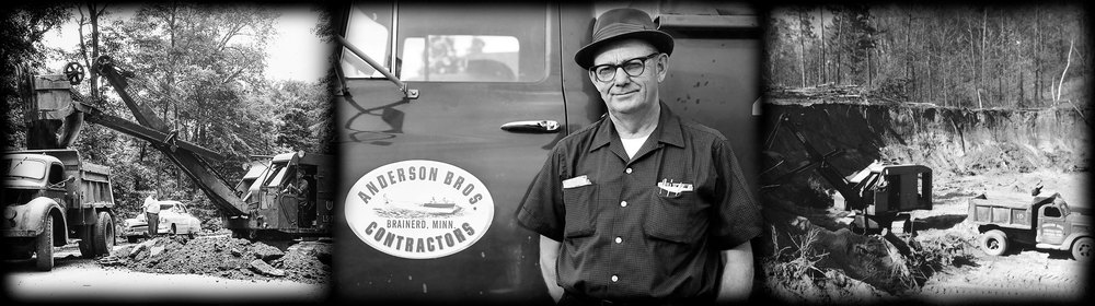 "Anderson Brothers Construction   ""Building Safer, Smoother Passage to Home, Work and Play""    Celebrating Over 75 Years!    CONTACT US"
