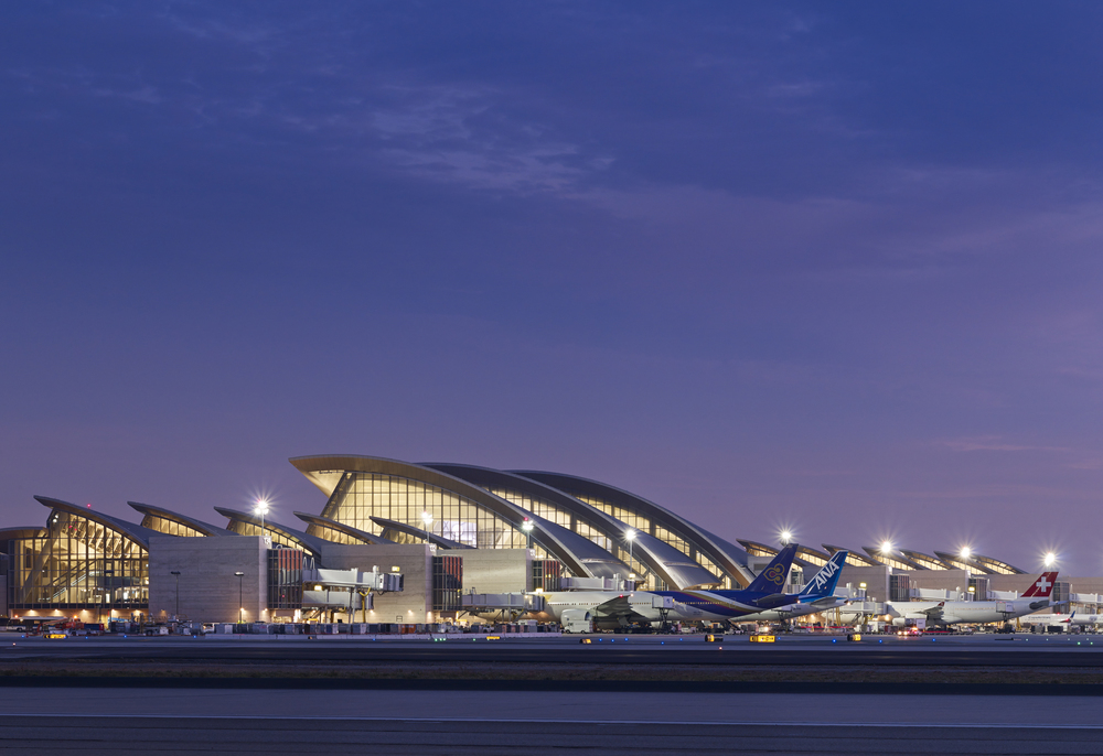 LAX International Terminal  Fentress Architects  Los Angeles, CA     Return to Projects