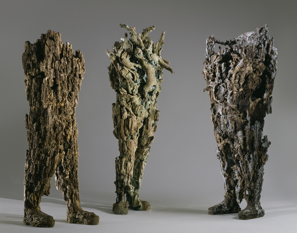 Watch Video       Strider, Salacia, Angry Neptune  (L-R)  Michele Oka Doner  Cast Bronze      Return to Projects