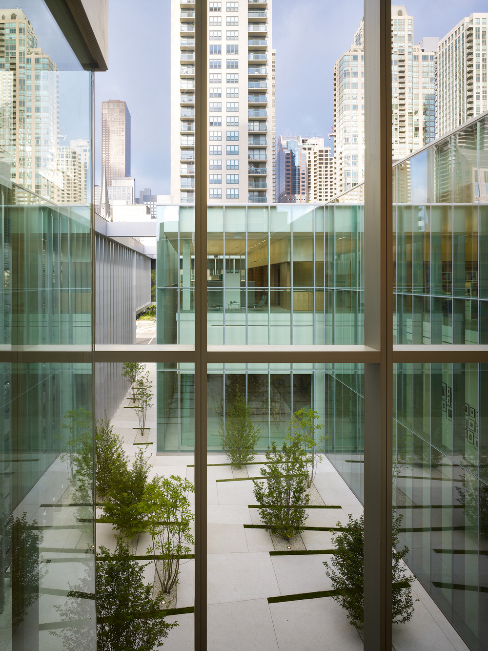 Poetry Foundation  John Ronan Architects  Chicago, IL     Return to Projects