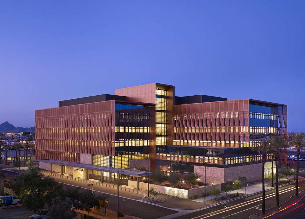 Arizona Cancer Center  ZGF Architects  Phoenix, Arizona      Return to Projects
