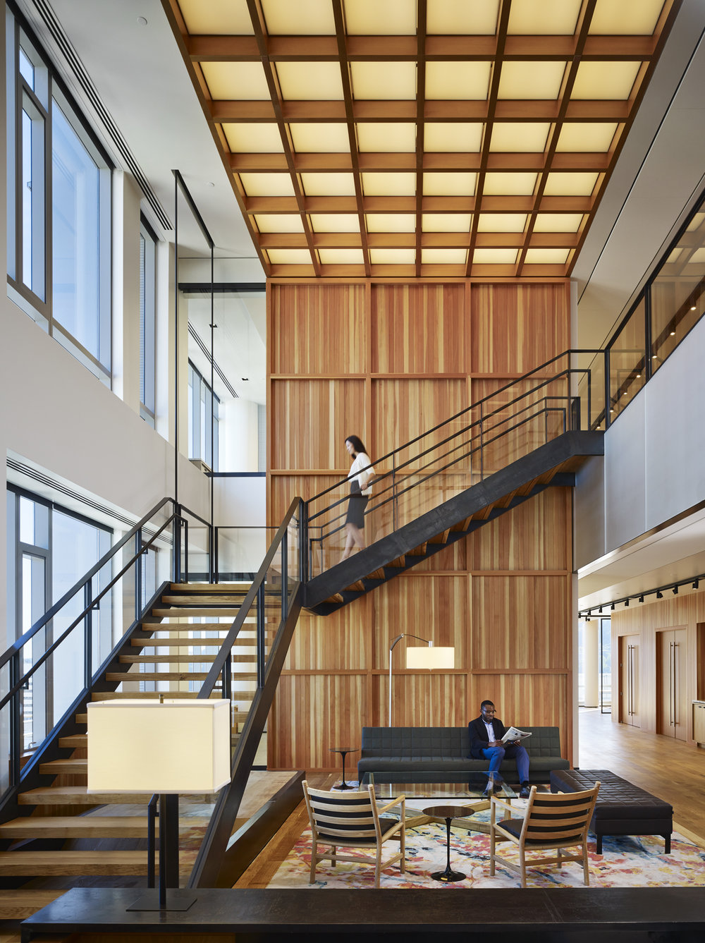 Stoel Rives  ZGF Architects  Portland, Oregon      Return to Projects