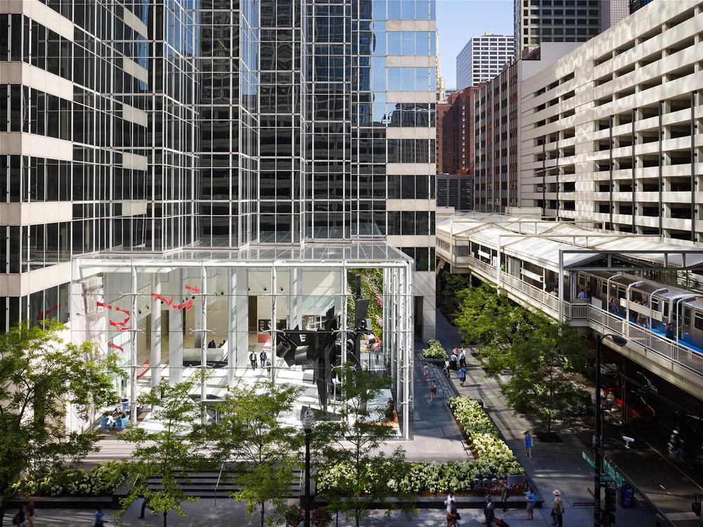 200 W. Madison   Renovation Architect + Artwork: Fyoog  Chicago, IL   Steve Hall
