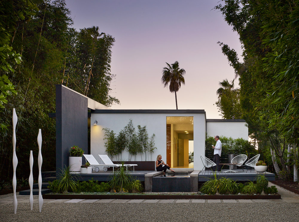 Hyman Residence  Renovation Architect: Ted Hyman  Long Beach, California      Return to Projects
