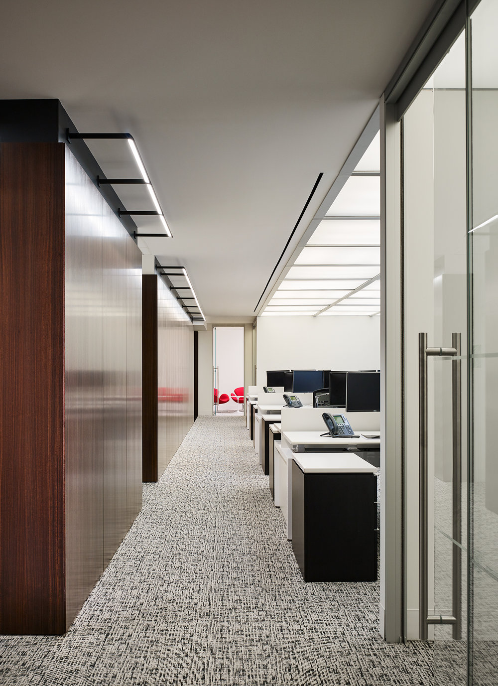 Carlson Capital Office  Staffelbach  New York City, New York      Return to Projects