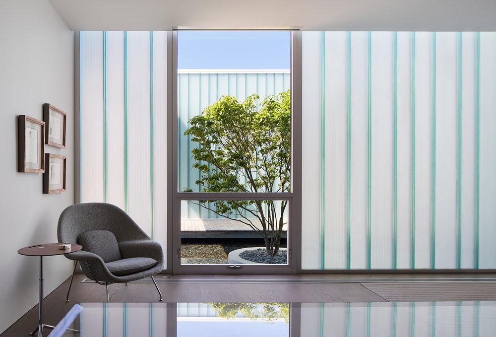 Courtyard House  John Ronan Architects  Michigan     Return to Projects