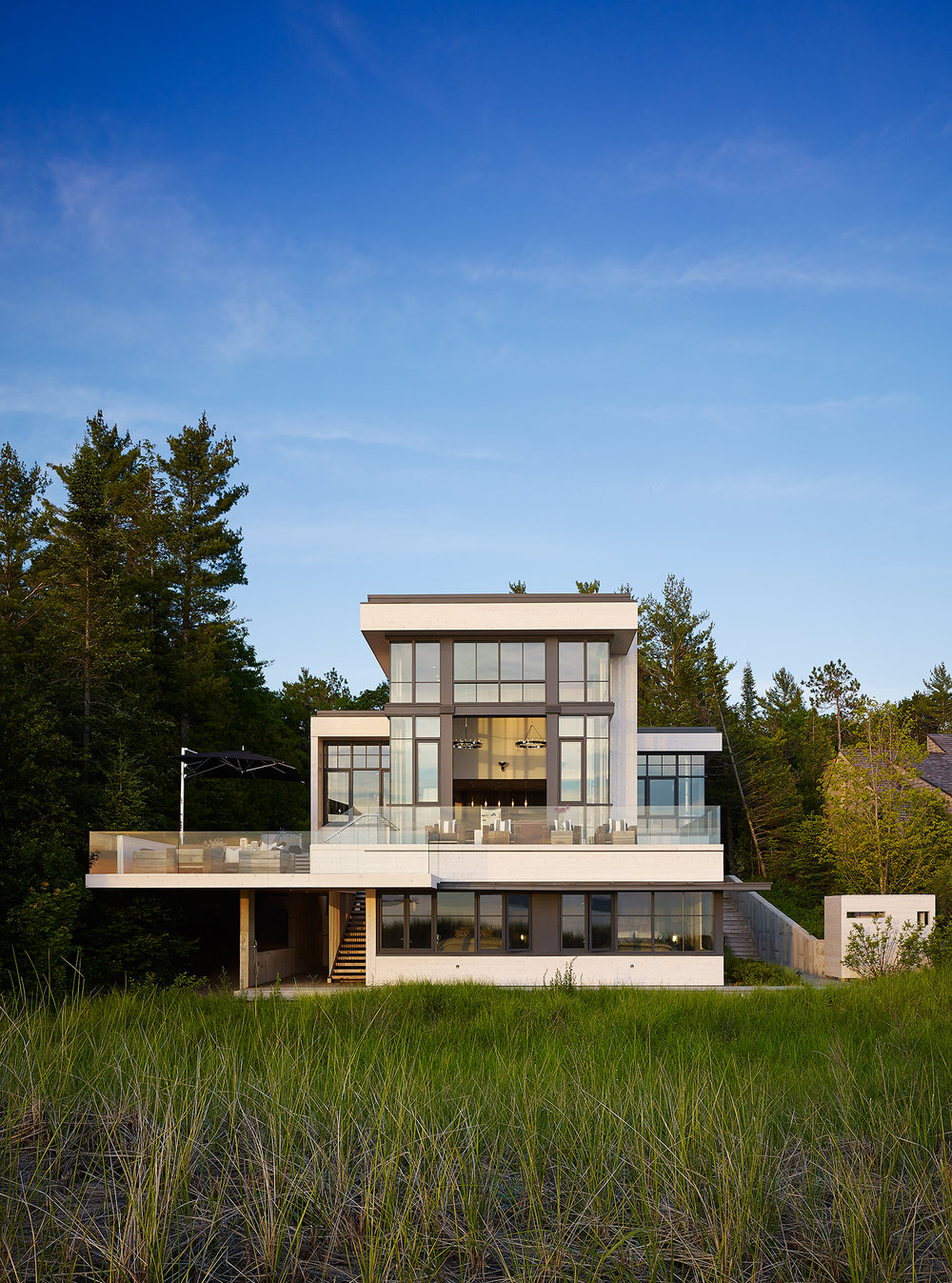 Cottage 52  von Weise Associates  Michigan      Return to Projects