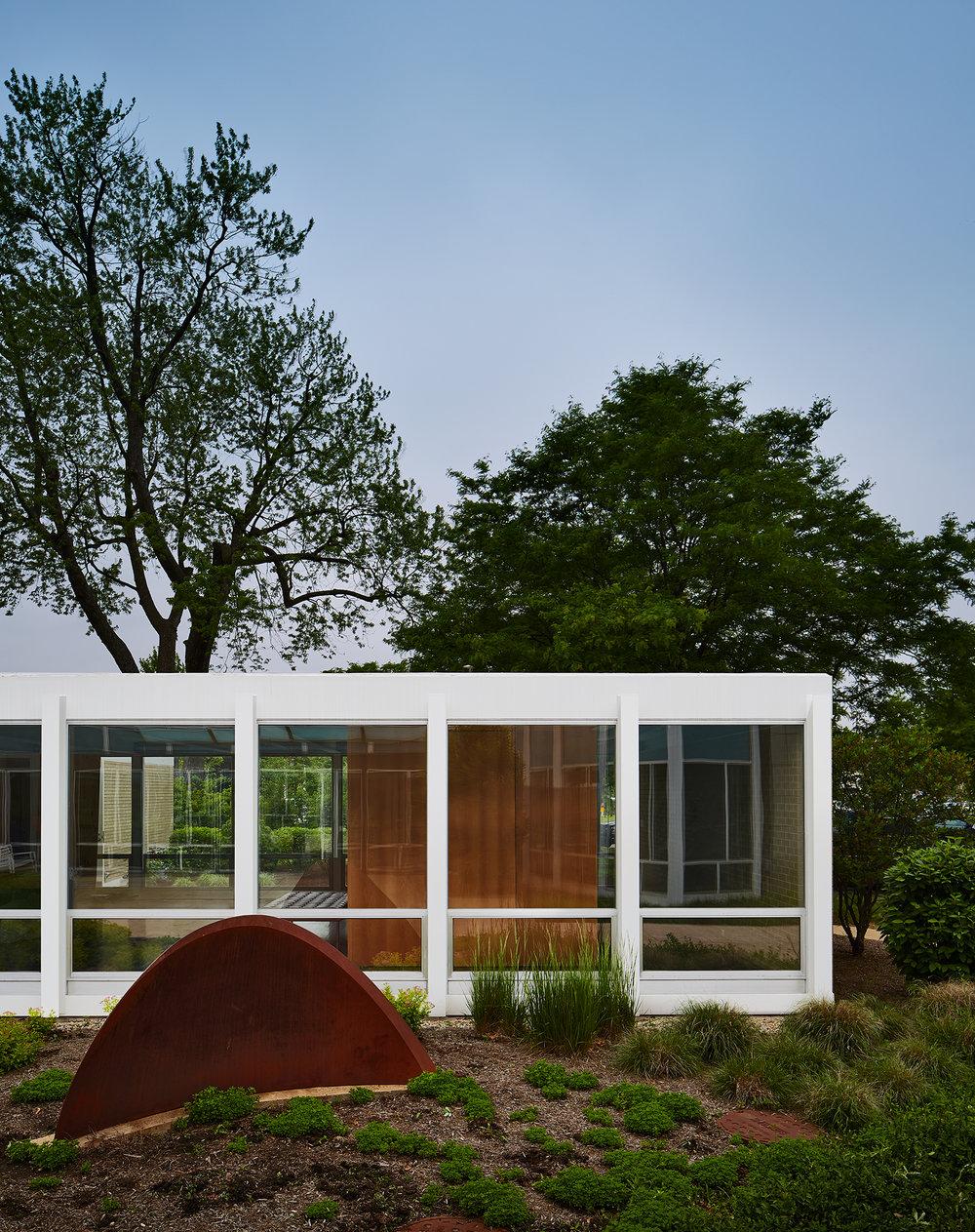 McCormick House  Mies van der Rohe  Elmhurst Art Museum  Elmhurst, IL     Return to Projects