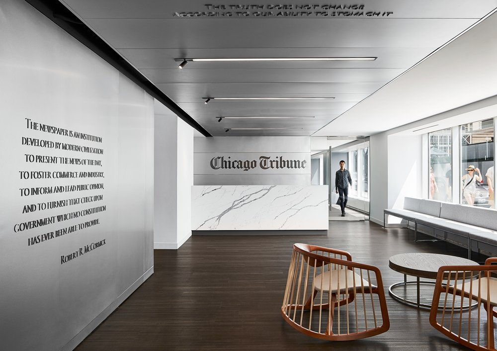 Chicago Tribune  Eastlake  Chicago, IL     View Project