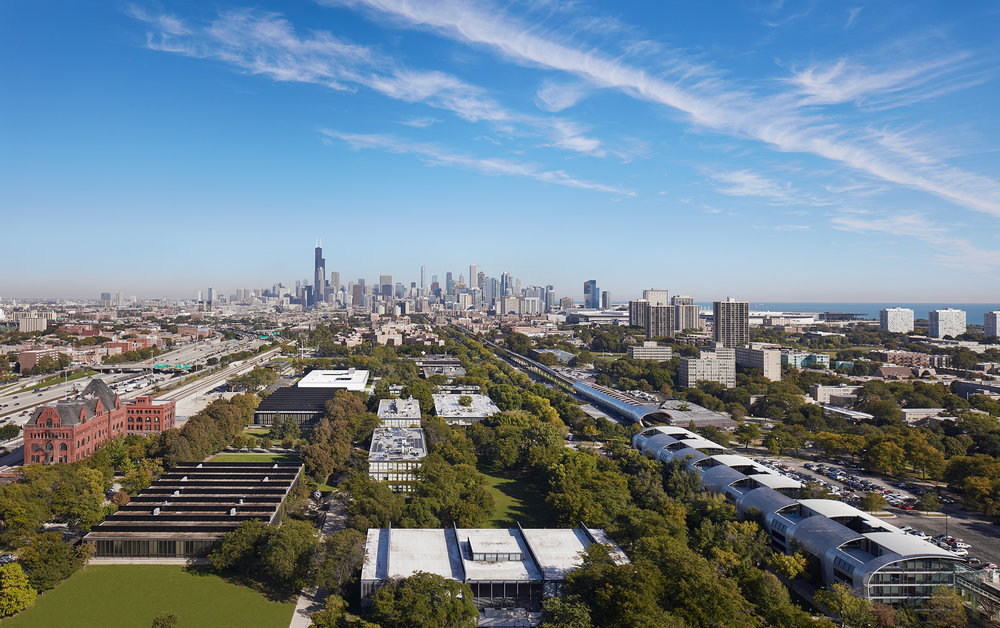 """PUBLICATIONS   Architectural Record , """"Ed Kaplan Family Institute for Innovation and Tech Entrepreneurship by John Ronan Architects""""    IIT Innovation Center  John Ronan Architects  Chicago, IL     Return to Projects"""