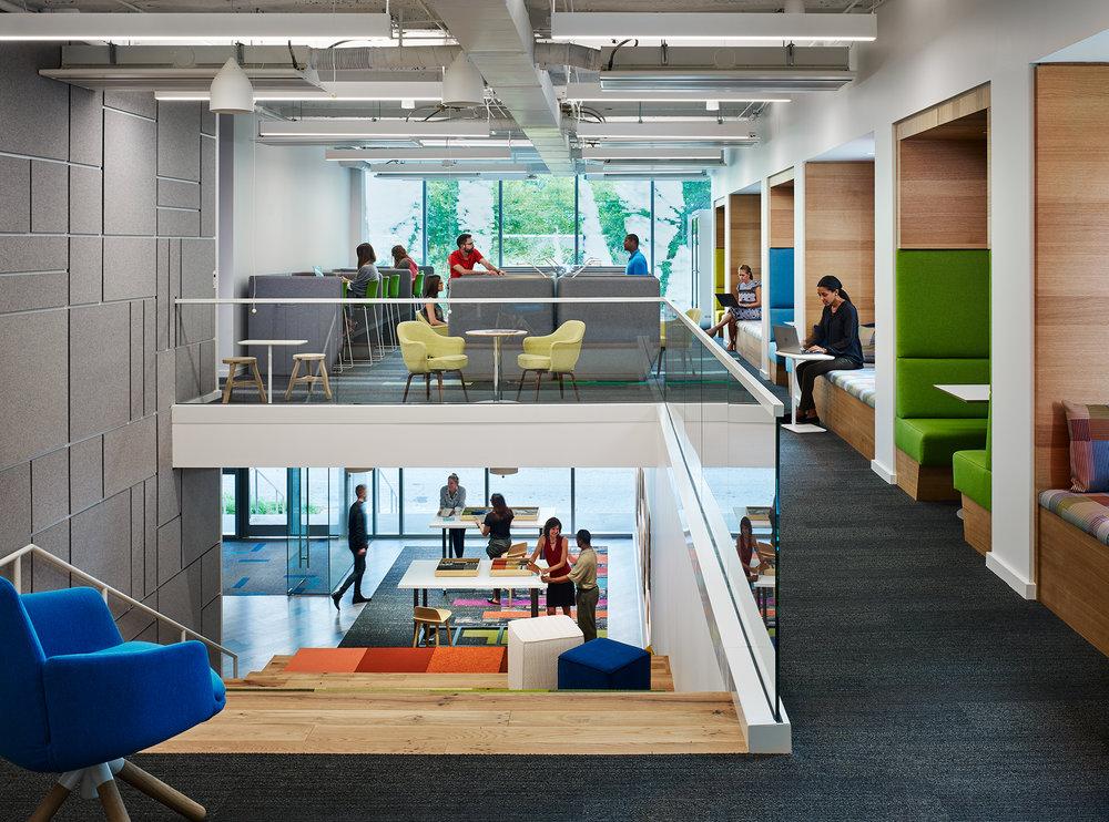 Interface Headquarters  Perkins+Will  Atlanta, GA     Return to Projects