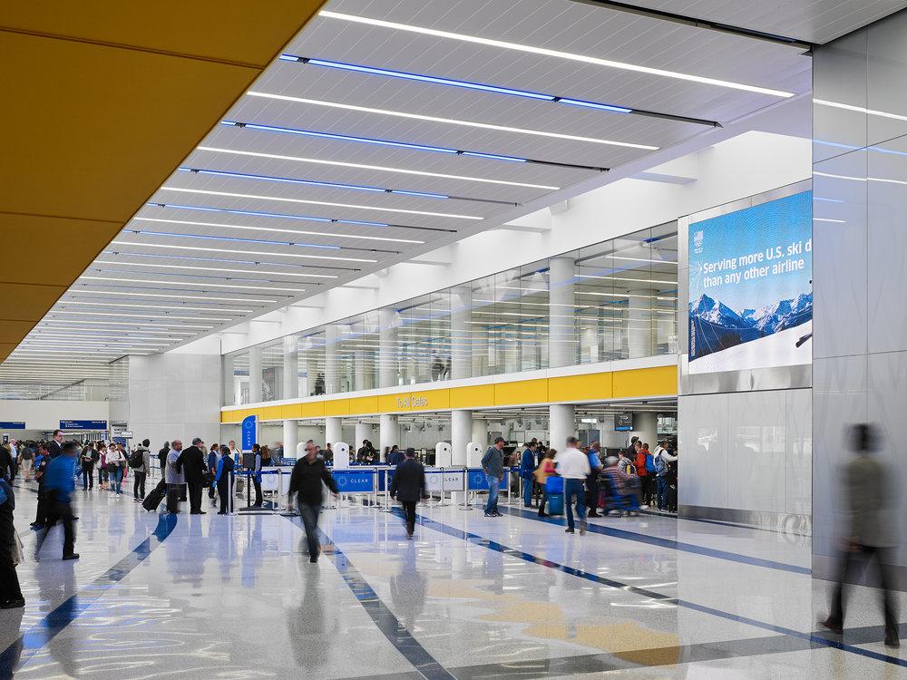 LAX United Terminal Renovation  Krueck+Sexton  Los Angeles, CA     Return to Projects