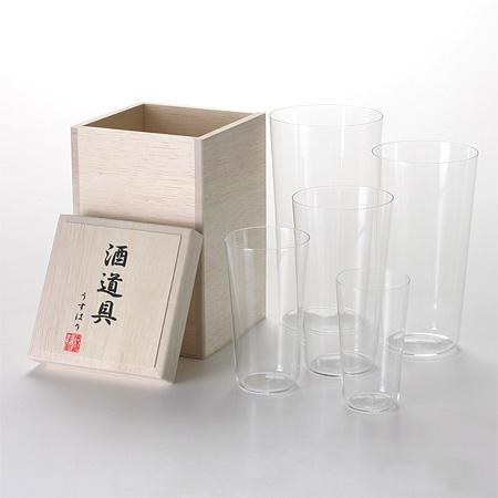 Usuhari Sake Dougu Gift Set