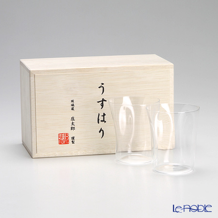 Usuhari Shiwa Old Fashioned Pair Set S