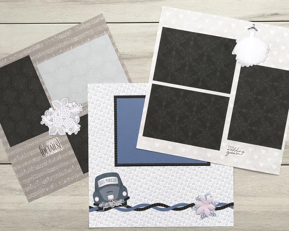 Wedding, 12x12 blank