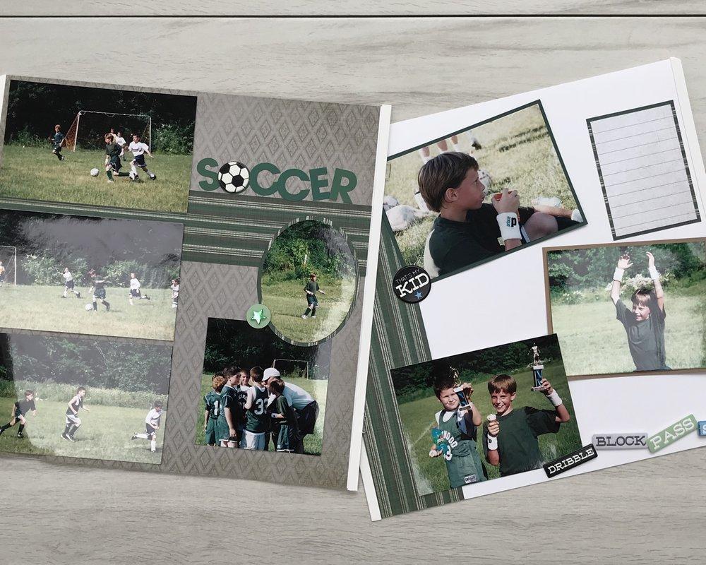 Childhood/Sports/Activity, 12x12