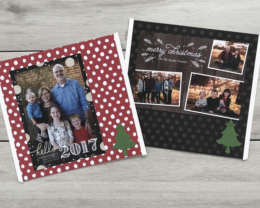 Christmas Card keepsake, 8x8