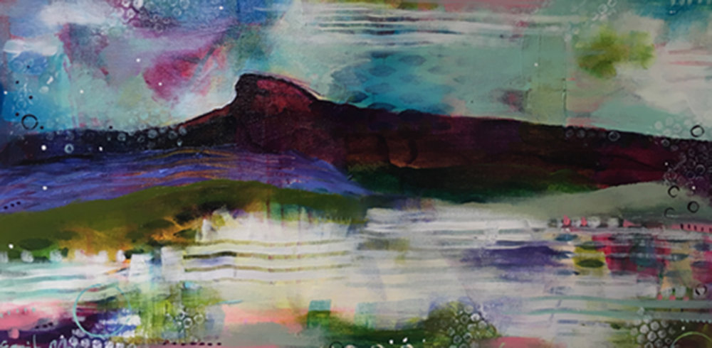 """Spring Thaw"", 10""x20"", $495"